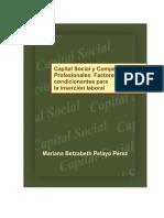 Libro Capital Social y Competencias Profesionales
