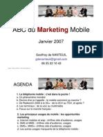 0 Mobile Marketing Etude Complete G de Nanteuil