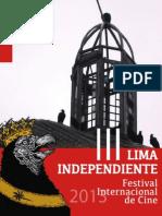 III LIMA INDEPENDIENTE Festival Internacional de Cine - Catálogo 2013