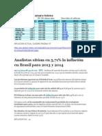 Datos Actuales Brasil