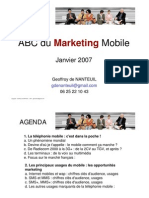 2 Mobile Marketing Principaux Usages G de Nanteuil