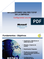 Implementación de una red
