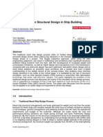 Simulation Driven Structural Design in Ship Building