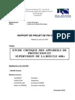 Etude Critique Des Appareils de Protection Et Supervision de La Boucle 60kv
