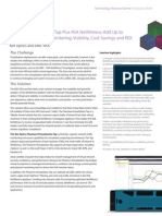 Phantom Virtualization Tap Plus RSA NetWitness Add Up to Exceptional Gains in Monitoring, Visibility, Cost-Savings and ROI