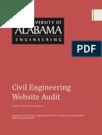 Website Audit Project Report