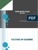 Kashmir (Consumer Behavior)