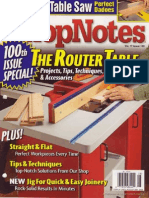 ShopNotes #100 - Ultimate Router Table