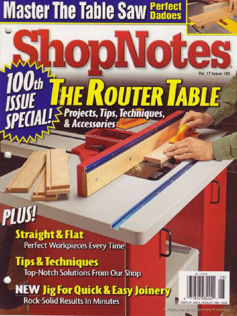 Shopnotes 100 ultimate router table screw woodworking greentooth Image collections
