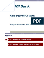 ICICI Bank Campus Presentation