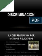 LA DISCRIMINACIÓN POR MOTIVOS RELIGIOSOS