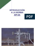 Norma API 6A Introduccion