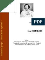 La Bourse - Balzac