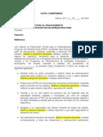 Formato Modelo Carta Compromiso