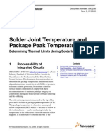 Jedec Industry Standard Classifications and Peak Solder Temperature