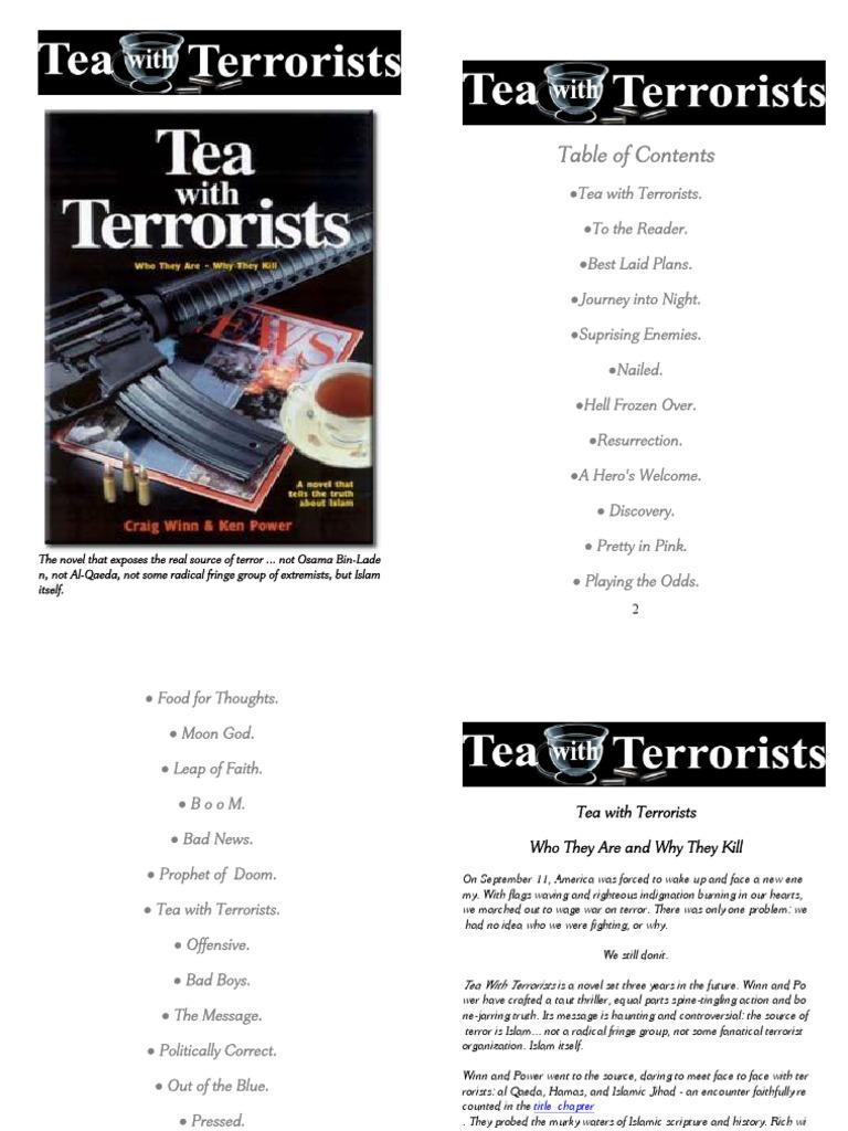 Ambiance Et Deco Idron tea with terrorist | palestine liberation organization
