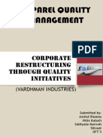 Corporate Restructuring Through Quality Initiatives - Copy