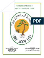 2009 Bonsai Brochure