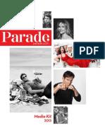 Parade Magazine 2013 Media Kit
