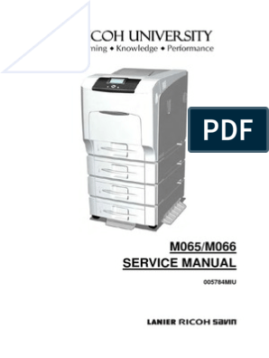 Ricoh Aficio SP C430DN C431DN SERVICE MANUAL | Electrical