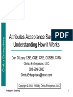 Attributes Acceptance Sampling Understanding How It Works