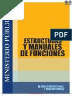 ESTRUCTURAS Y MANUALES DE FUNCIONES - ÁREA DE JURISDICCIONAL Y ADMINISTRATIVA - MINISTERIO PUBLICO - PORTALGUARANI