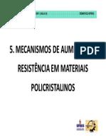 5. Mecanismos de Aumento Da Resistencia