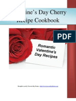 Valentines Day Tart Cherry Recipe eBook