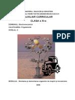 Electromecanicxi Organe de Masini Si Mecanisme