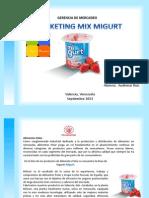 Marketing Mix Migurt