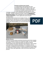 Opções e Ideias de Artesanato em Biscuit para Cozinha