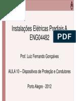ENG04482 Aula 10 Disjuntores e Condutores