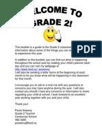 Grade 2 Handbook