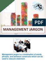 Management Jargon