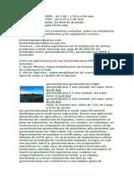 Geomembrana HDPE