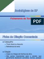 Ficha de Citação Comentada