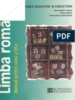 Manual pentru clasa a VII-a Limba română 1 - Copy