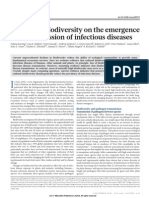 Impacts of Biodiversity on the Emergence of Inf Dis