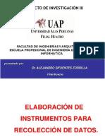 Elaboración de instrumentos de investigación