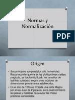 Normas y Normalización up