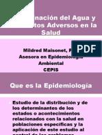Contaminacion Del Agua y Sus Efectos Adversos en La Salud