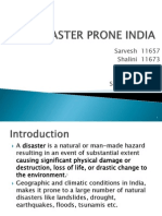 DISASTER PRONE INDIA.pptx