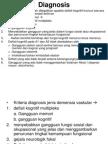 Diagnosis Demensia