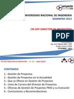 Presentación Soy Project Management Vs01 al 03.09.13