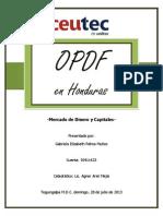 Empresas OPDF en Honduras