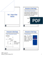 Part I - Design of Steel Members