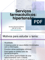 Apresentacao Servicos Farmaceutico Hipertensao