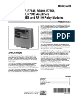 Amplicador de Flama Honeywell
