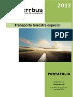 Portafolio de Servicios Terbus