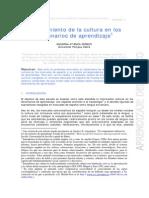 El Tratamient de La Cultura en Los Diccionarios de Aprendizaje
